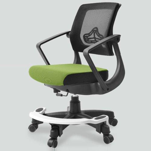 탑체어 기능성 루디 발받침형 블랙바디 책상의자