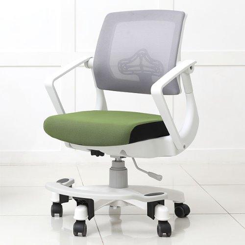 탑체어 기능성 루디 발받침형 화이트바디 책상의자